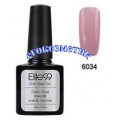 Elite99 10ml UV гел лак 3 в 1 - 6034	Dirty Pink