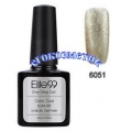 Elite99 10ml UV гел лак 3 в 1 - 6051	Pearl Lightyellow