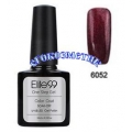 Elite99 10ml UV гел лак 3 в 1 - 6052	Pearl Maroon