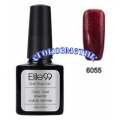Elite99 10ml UV гел лак 3 в 1 - 6055	Pearl Darkred