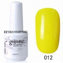 gelpolish gel lab ув гел лак 15 ml 012
