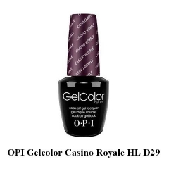 opi гел лак gelcolor - Casino Royale HL D29