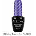 opi гел лак gelcolor - Tomorrow Never Dies HL D28