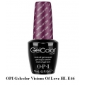 opi гел лак gelcolor - Visions Of Love HL E46