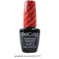 opi гел лак gelcolor - coca cola red GC C15
