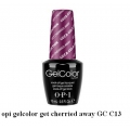 opi гел лак gelcolor - get cherried away GC C13