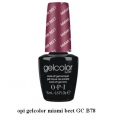 opi гел лак gelcolor - miami beet GC B78