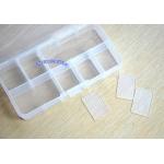 кутия за камъчета синя - 13 см-6,5 см