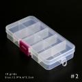 кутия за камъчета прозрачна - 13 см-6,5 см