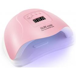 лампа за маникюр SUN X5 Plus 110W, 36 led, Розов