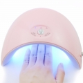 36W UV 12 LED лампа за маникюр - розова