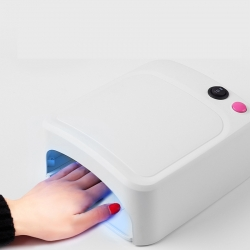 UV лампа 36W за маникюр и ноктопластика бяла - 3 крушки