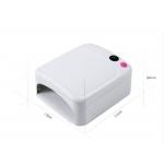UV лампа 36W за маникюр и ноктопластика розова - 3 крушки