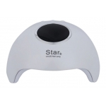 лампа за маникюр Star 6, UV LED,36w, 12 led, дигитален дисплей, бяла
