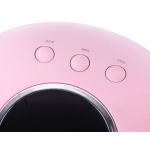 лампа за маникюр Star 6, UV LED,36w, 12 led, дигитален дисплей, розова