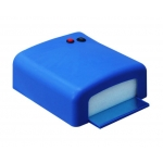 професионална UV лампа 36W за маникюр и ноктопластика синьо