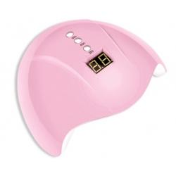 лампа за маникюр Mini 5b, UV LED, 36w, 12 led, розова