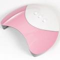 36W UV 12 LED bevili лампа за маникюр - розова