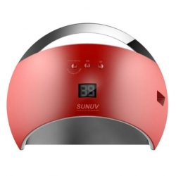 48W лампа за маникюр SUN6 диг. дисплей комбинирана ув лед uv led червена