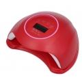 лампа за маникюр SUNq1, UV LED, 48w, 24 led, червена