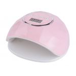 лампа за маникюр ЕГО F5, UV LED, 72w, 24 led, Дигитален дисплей, Розова
