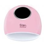лампа за маникюр Star 5, UV LED, 72w, 33 led, дигитален дисплей, розова
