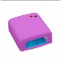 професионална UV лампа 36W за маникюр и ноктопластика лилава