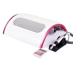 многофункционална станция за маникюр 3 в 1, ел пила, 3 вентилатора, вакуум