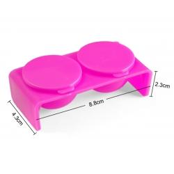 двоен контейнер за оцветяване на акрилна пудра