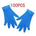 ръкавици нитрил 100 бр сини М