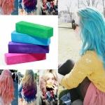 пастели за коса , цветни кичури - 4 цвята в комплект