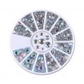 кристални камъчета микс за декорация 5mm,4mm,3mm,2mm,1mm 14483
