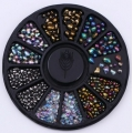 камъчета смесен микс неправилни мъниста и кръг 36990-2