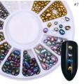 камъчета смесен микс неправилни мъниста и кръг 36990-4