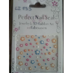 стикери,лепенки за декорация на нокти, маникюр 11