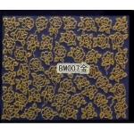 3D златни стикери ,серия BM