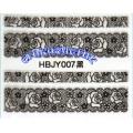 3D стикери за маникюр дантела черна HBJY 007