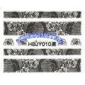 3D стикери за маникюр дантела черна HBJY 010
