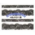 3D стикери за маникюр дантела черна HBJY 011
