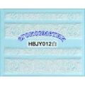 3D стикери за маникюр дантела бяла HBJY 012