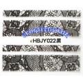 3D стикери за маникюр дантела черна HBJY 022