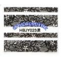 3D стикери за маникюр дантела черна HBJY 023