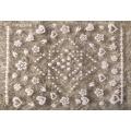 3D стикер цветя бели холограмни лепящ YG314
