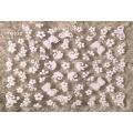 3D стикер цветя бели холограмни лепящ YG322