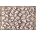 3D стикер цветя бели холограмни лепящ YG330