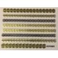 3D стикер дантела златна лепящ YGYY683