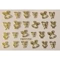 3D стикер животни златни лепящ YGYY170