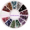 кристални камъчета за декорация триъгълни 3 мм
