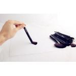 VANDER професионални четки за грим в кожен калъф - черни - 32 четки